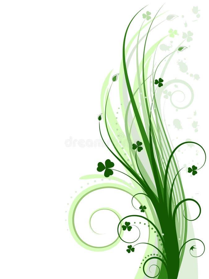 Grüner Hintergrund (Vektorincl) stock abbildung