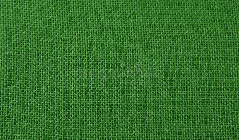 Grüner Jutefaserhintergrund lizenzfreies stockfoto