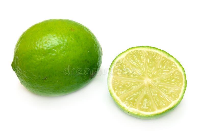 Grüner Kalk lizenzfreie stockfotos