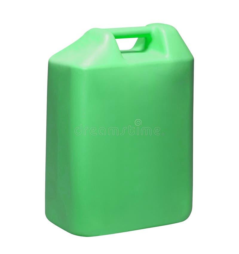 Grüner Kanister lizenzfreie stockbilder