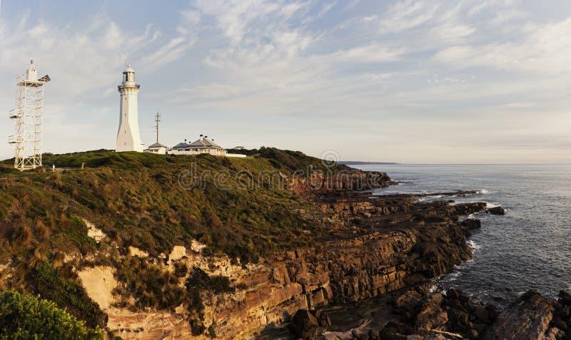 Grüner Kap-Leuchtturm, New South Wales stockfotografie