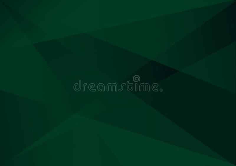Grüner linearer Formhintergrund-Steigungshintergrund vektor abbildung