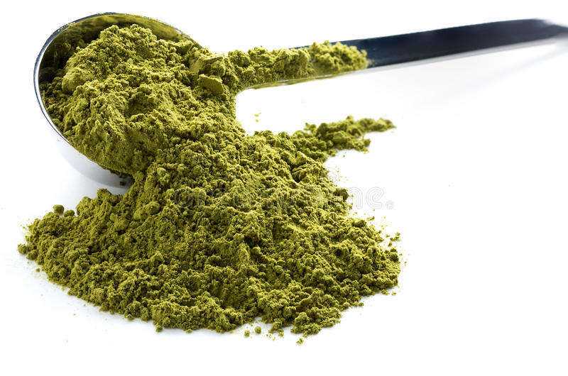 Grüner matcha Tee lizenzfreies stockfoto