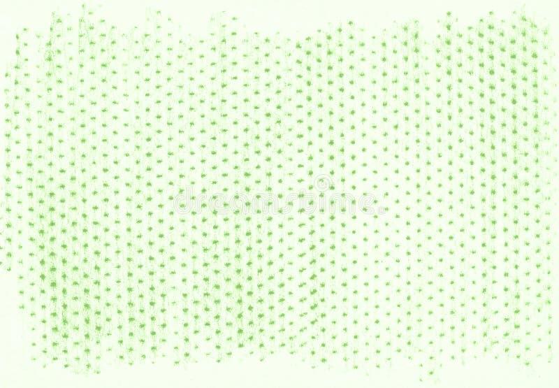 Grüner organischer natürlicher Hintergrund mit eco Bleistiftschmutz-Holzkohlenbeschaffenheit lizenzfreie abbildung
