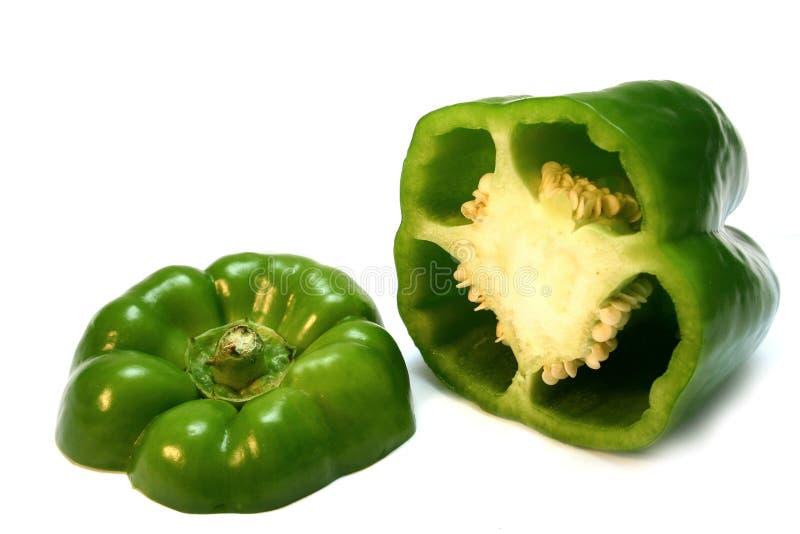 Grüner Pfeffer stockfoto