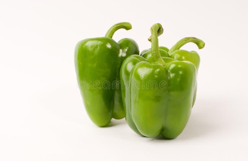 Grüner Pfeffer lizenzfreies stockfoto