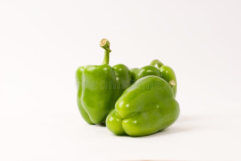 Grüner Pfeffer stockbild
