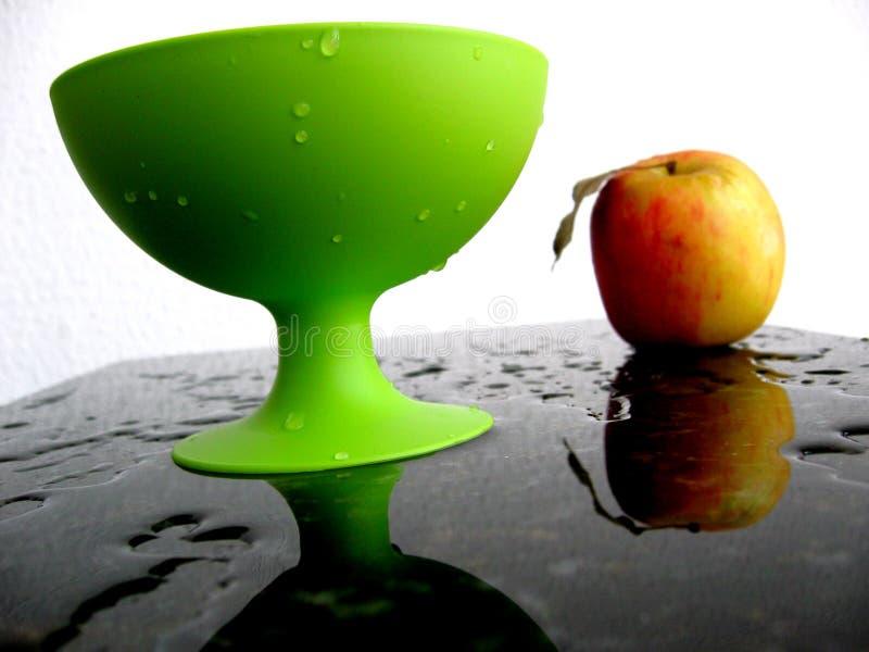 Grüner Plastik stockfoto