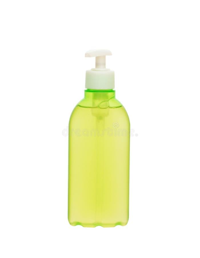 Behälter Mit Flüssiger Seife Stockfoto - Bild von seife, flasche ...