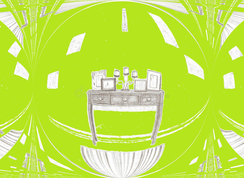 Grüner Raum lizenzfreies stockbild