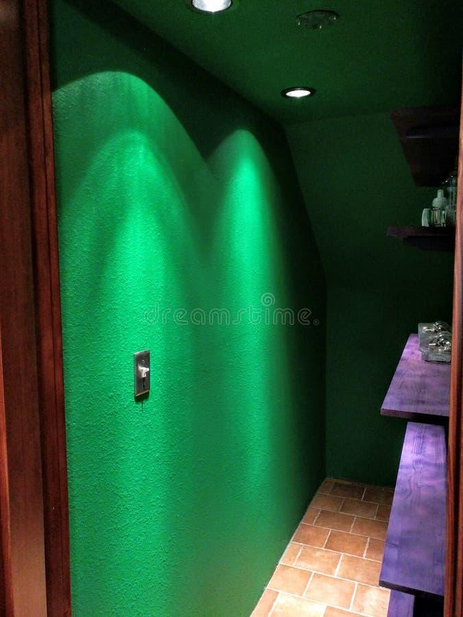 Grüner Raum stockfoto