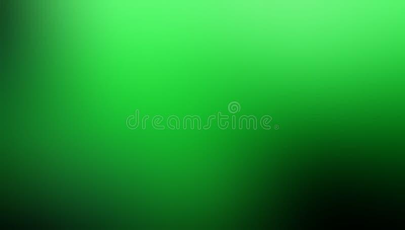 Grüner schattierter Hintergrund-Vektorentwurf der Unschärfe abstrakter, bunter unscharfer schattierter Hintergrund, klare Farbvek stock abbildung