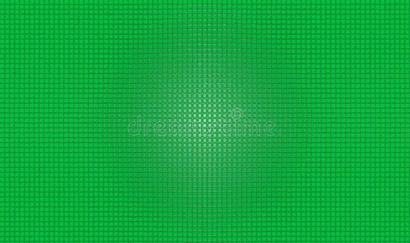 Grüner Schirm sprudelte Hintergrund stockfoto