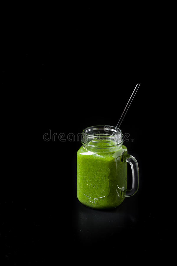 Grüner Smoothie stockfotografie
