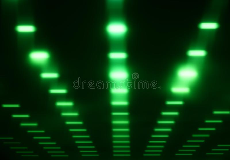 Grüner solider Studioentzerrerhintergrund vektor abbildung