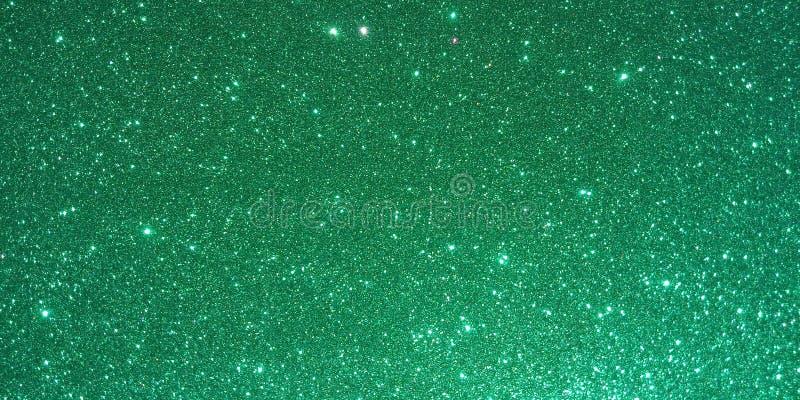 Grüner strukturierter Hintergrund mit Funkelneffekthintergrund stock abbildung