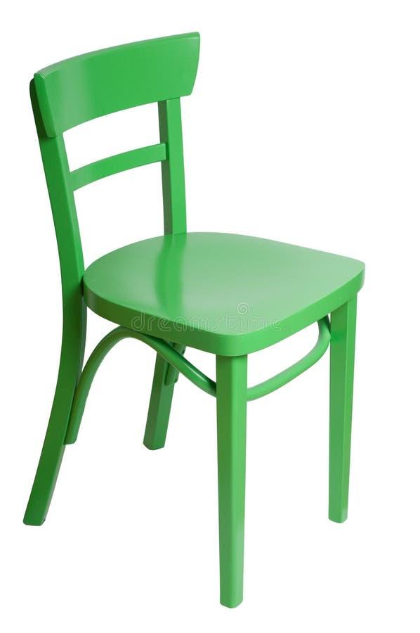 Grüner Stuhl stockbilder