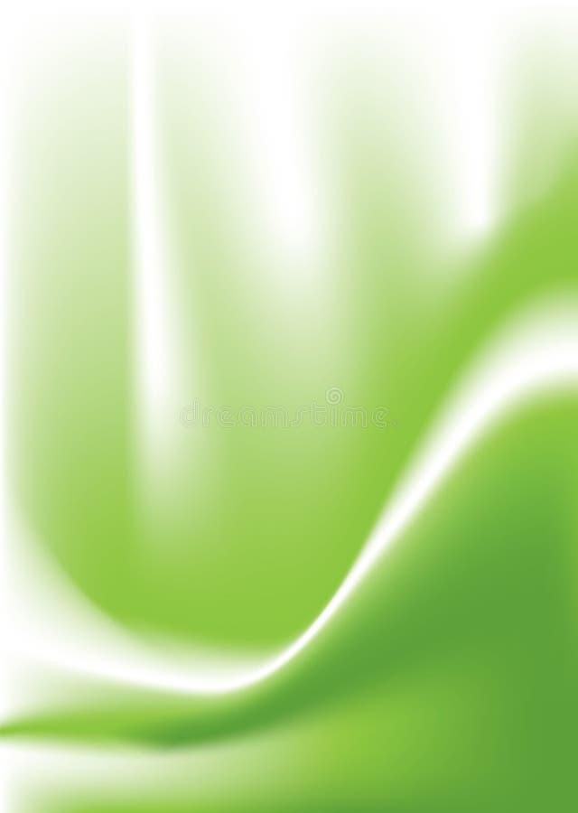 Grüner Sturzflug vektor abbildung