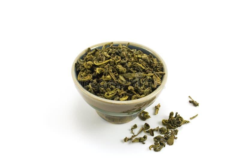 Grüner Tee lizenzfreie stockfotos
