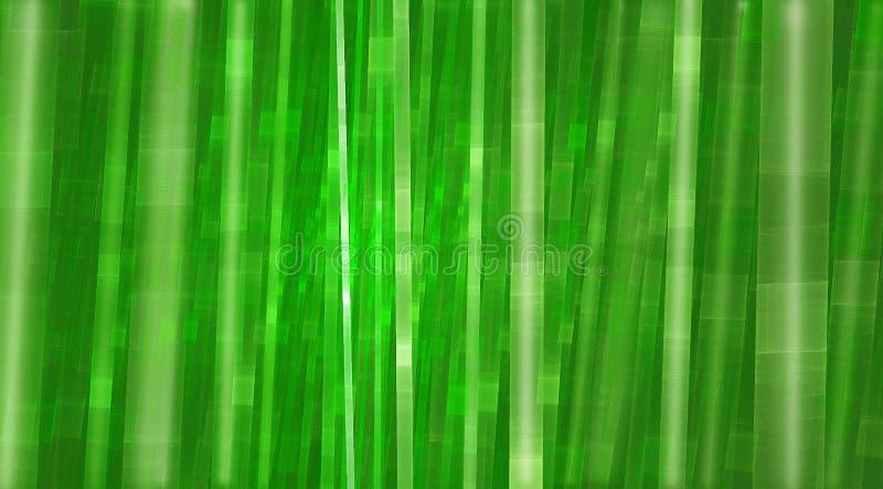 Grüner träumerischer bunter Bambushintergrund stockbild