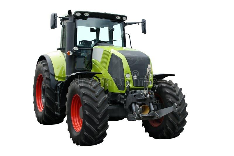 Grüner Traktor lizenzfreie stockfotos