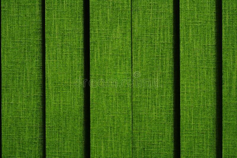 Grüner Trennvorhang lizenzfreie stockfotografie