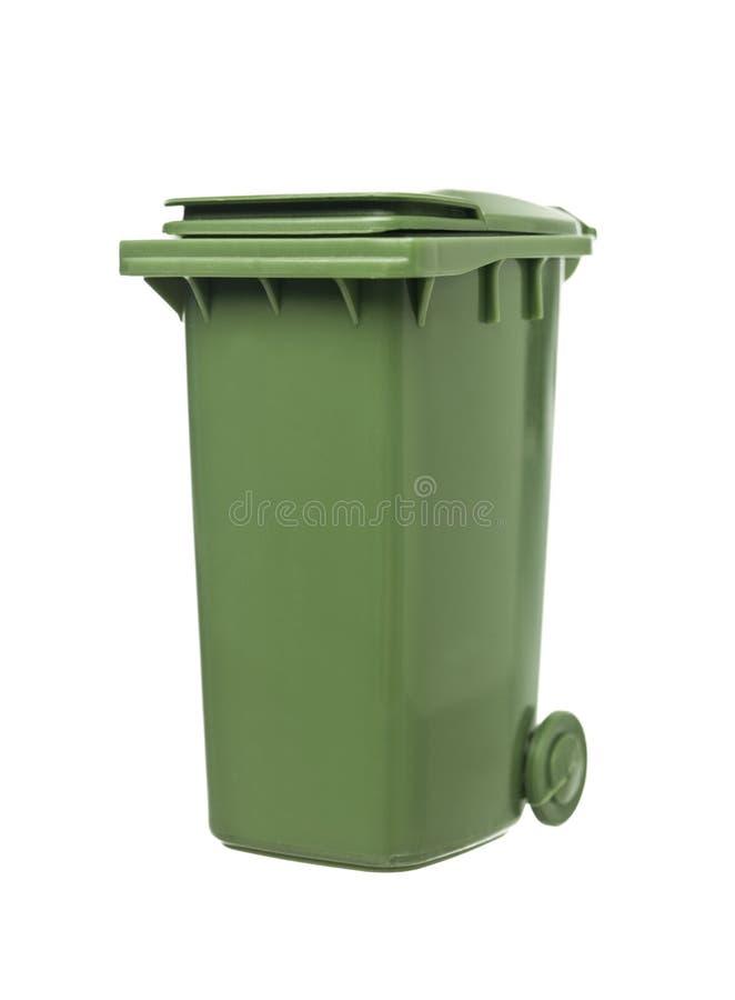Grüner Wiederverwertungs-Stauraum lizenzfreie stockfotos