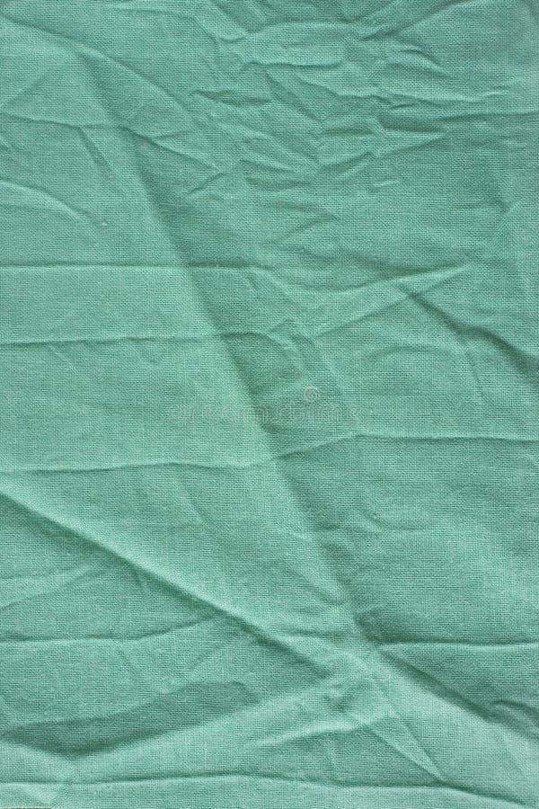 Grüner wrinkly Hintergrund stockfotografie