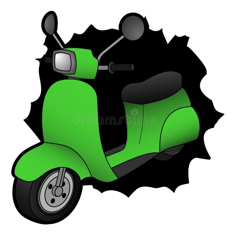 Grüner Zerhacker stock abbildung