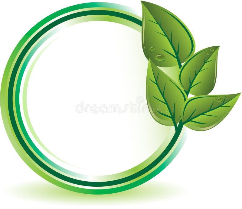 Grünes Ökologiekonzept vektor abbildung