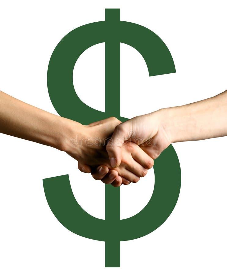 Grünes Abkommen stockfotos
