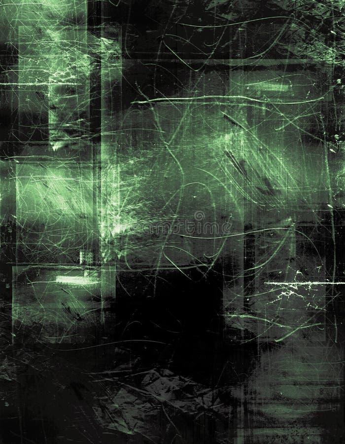 Grünes Azetat lizenzfreie abbildung