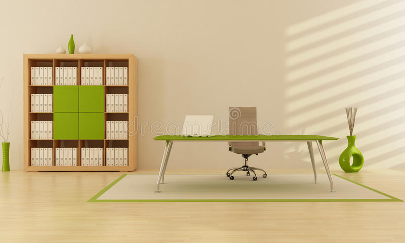 Grünes Büro vektor abbildung