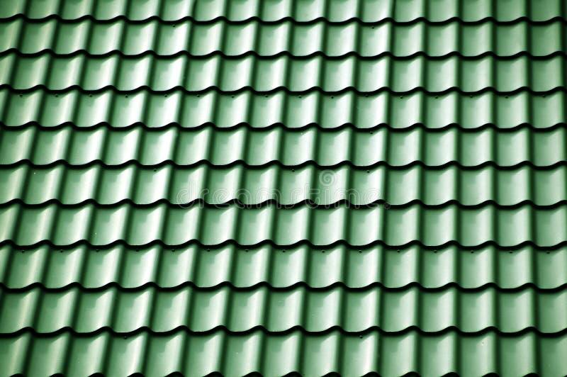 Grünes Dach stockfotografie