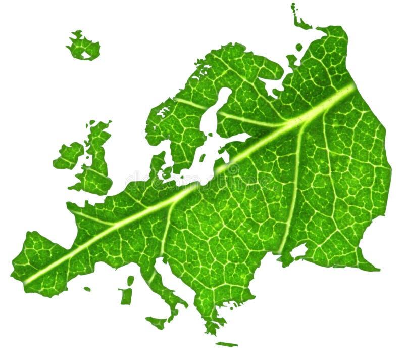 Grünes Europa lizenzfreie stockfotos