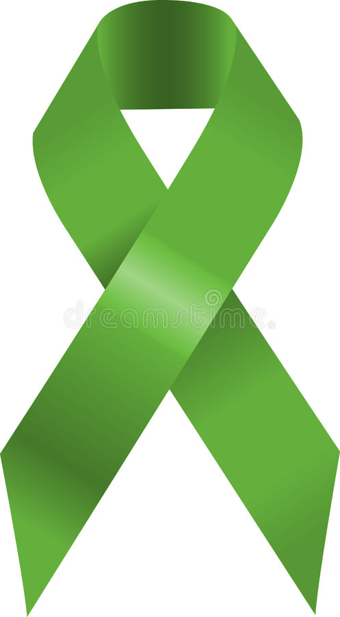 Grünes Farbband vektor abbildung