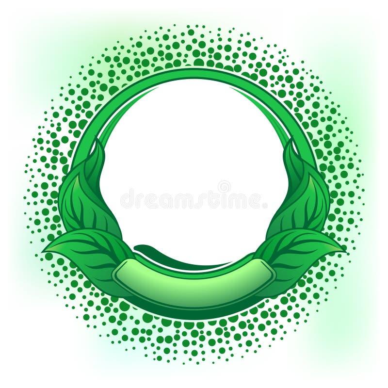 Grünes Feld vektor abbildung