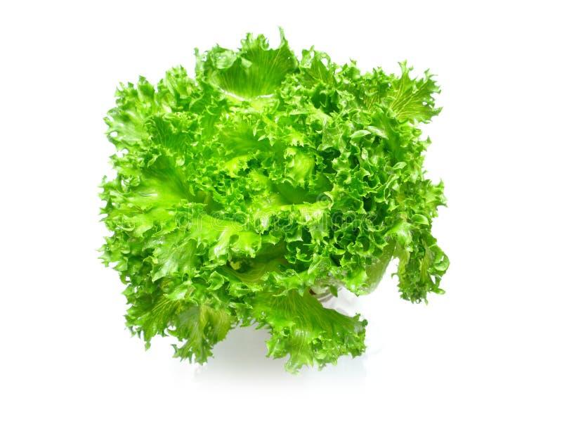 Grünes Gemüse auf weißem Hintergrund stockfotos