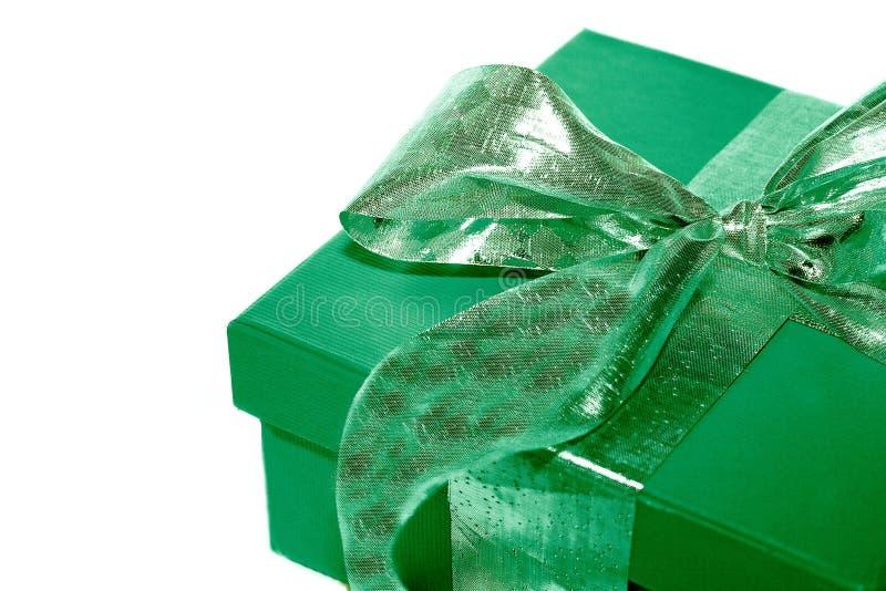 Grünes Geschenk lizenzfreie stockfotografie