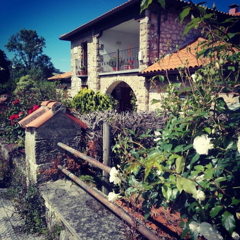 Grünes Haus stockfoto