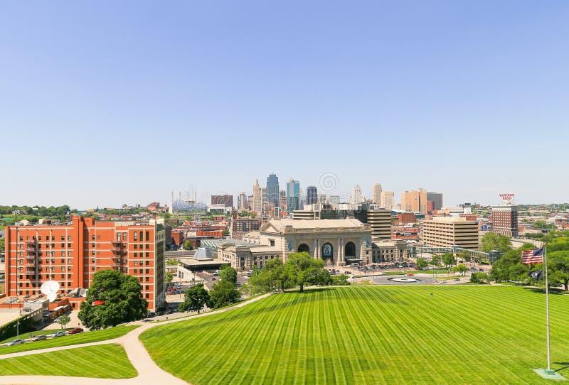 Grünes Kansas City lizenzfreie stockfotografie