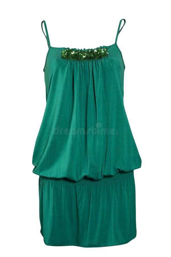 Grünes Kleid lizenzfreies stockfoto