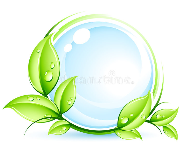 Grünes Konzept stock abbildung