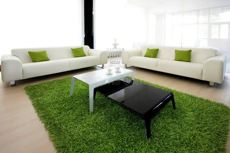 Download Grünes Leben stockfoto. Bild von vase, zuhause, möbel - 9094760
