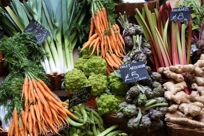 Grünes Lebensmittelhändler ` s stockbilder