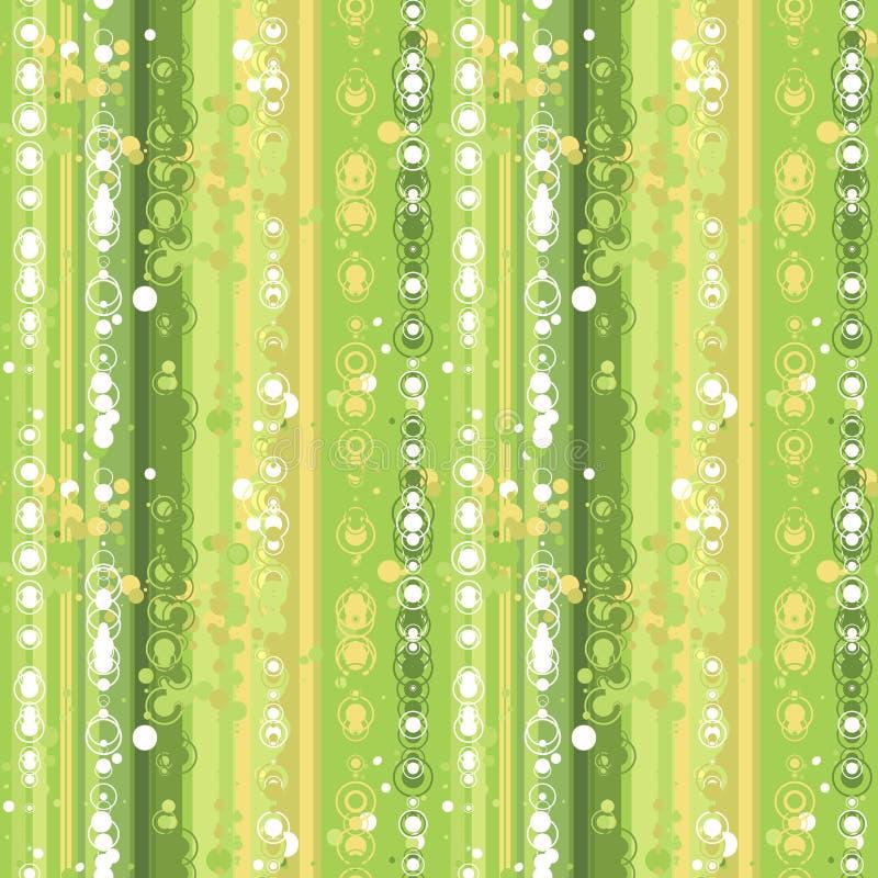 Grünes nahtloses stock abbildung