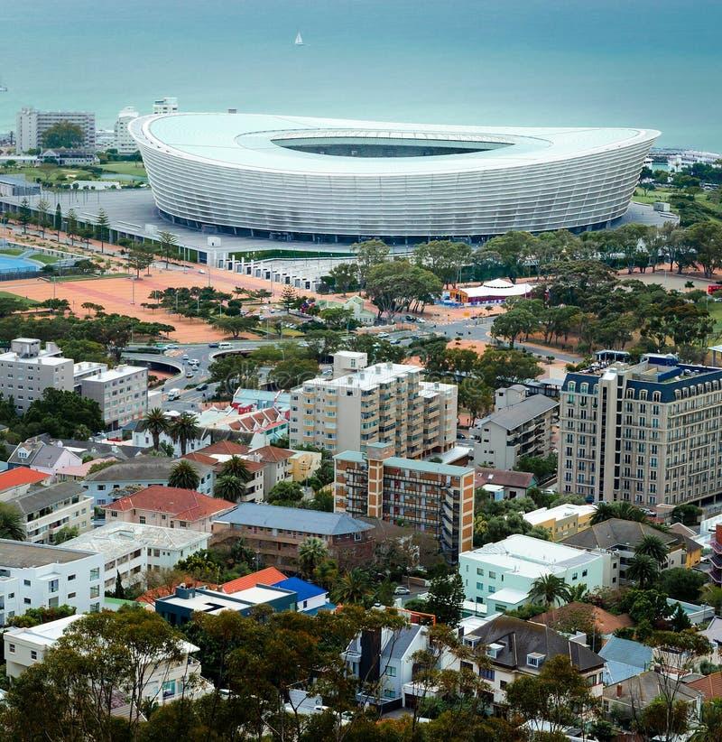 Grünes Punkt-Stadion Kapstadt lizenzfreie stockfotografie