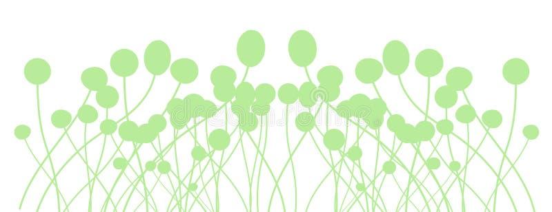Grünes Säen stock abbildung
