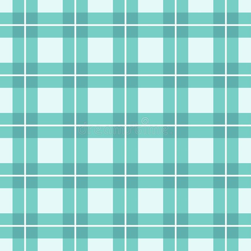 Grünes Schottenstoff-Plaid-Muster-Design vektor abbildung