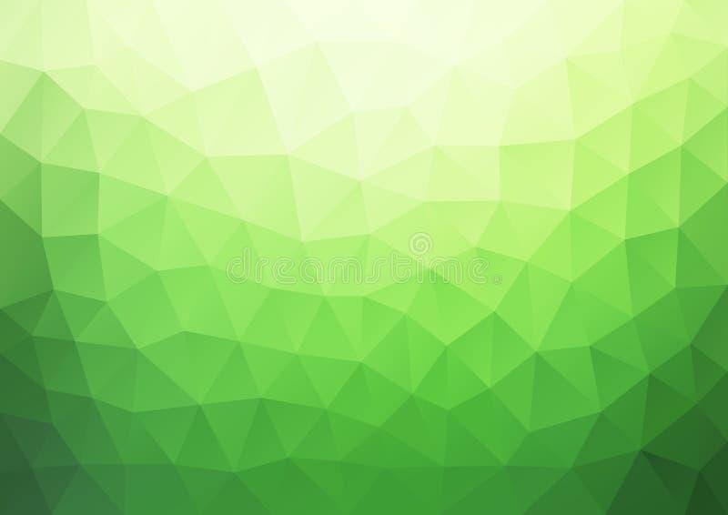 Grünes Steigungs-Muster geometrisch lizenzfreie abbildung